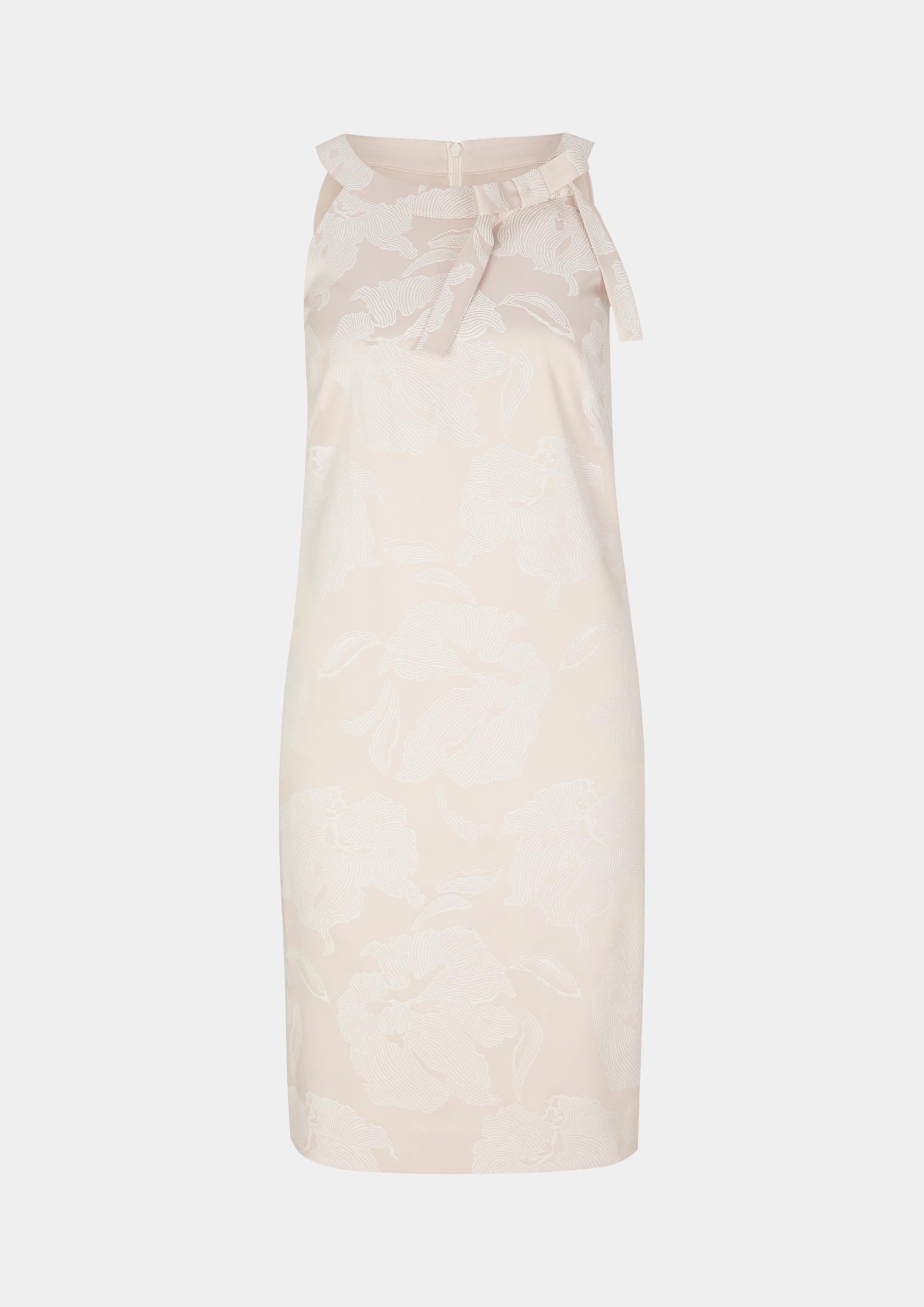 Abendkleid | Bekleidung > Kleider > Abendkleider | Braun | 61% polyester -  37% viskose -  2% elasthan| futter: 100% polyester | comma