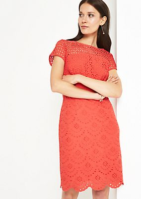 Elegant sheath dress in lace from comma