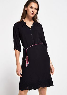 Blouse dress with a chain belt from comma