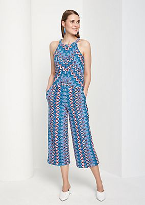 Jumpsuit with openwork pattern from comma