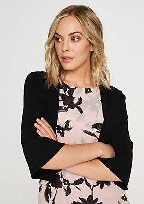 Short cardigan with 3/4-length sleeves from comma