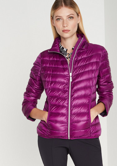 Lightweight down jacket with a hood from comma