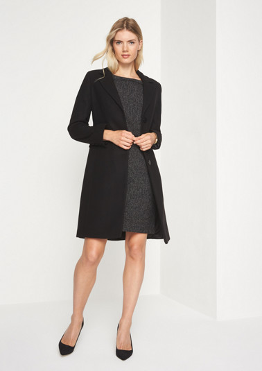 Elegant winter coat with sophisticated details from comma