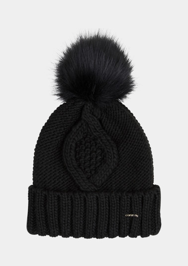 Cable knit hat from comma