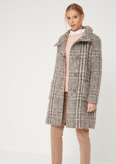 Warm coat in a wool look from comma