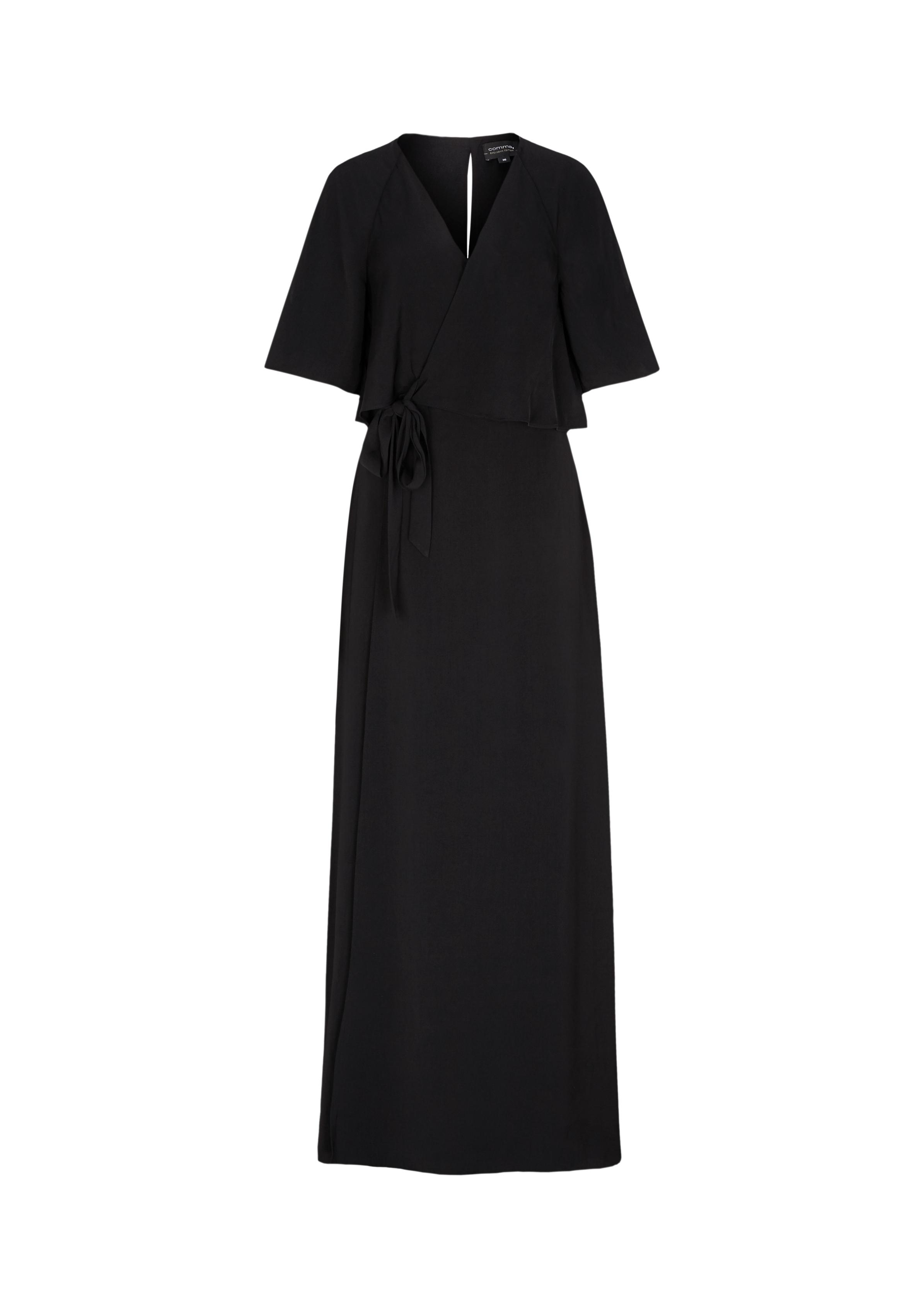 Abendkleid | Bekleidung > Kleider > Abendkleider | Grau/schwarz | Oberstoff: 100% polyester| futter: 100% polyester | comma