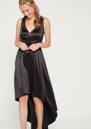 Satin evening dress from comma