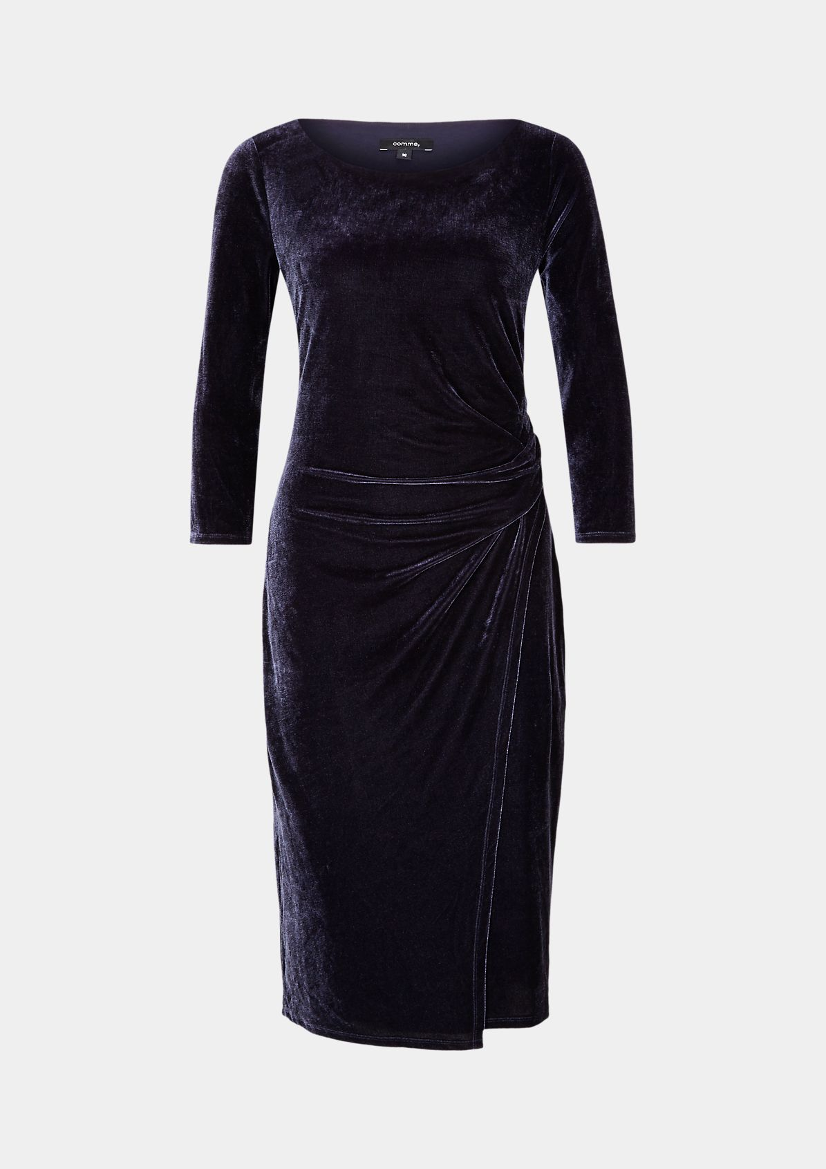 Evening gown made of elegant velvet from comma