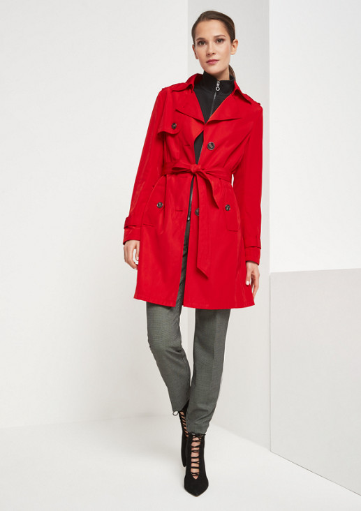 Classic trench coat with belt from comma