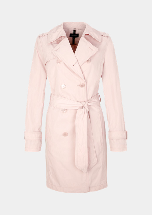 Double-breasted trench coat with smart details from comma