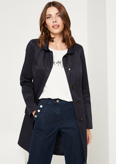 Paletot coat with smart details from comma