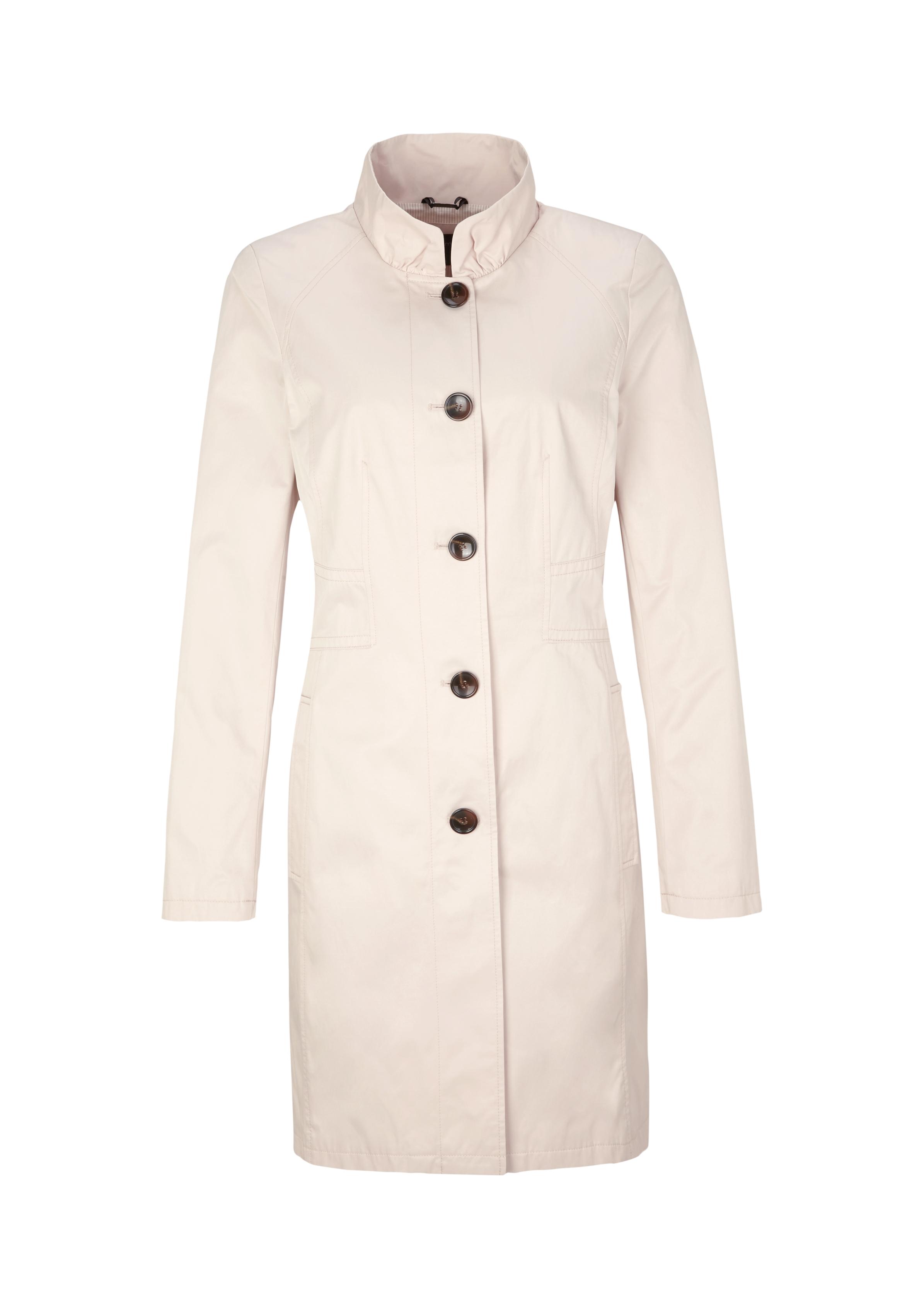 Mantel | Bekleidung > Mäntel | Braun | 50% baumwolle -  50% polyester | comma