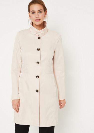 Manteau style paletot à détails ouvragés élégants de Comma