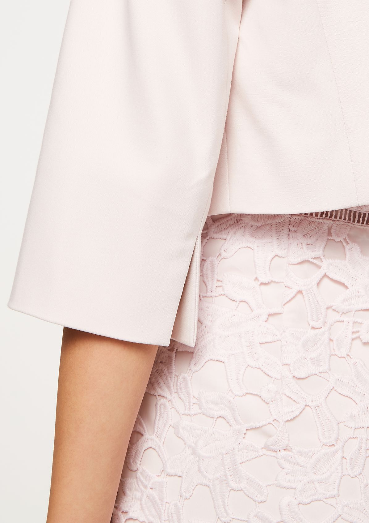 Short blazer in a bolero style from comma