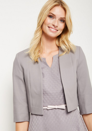 Short blazer in a bolero style from comma