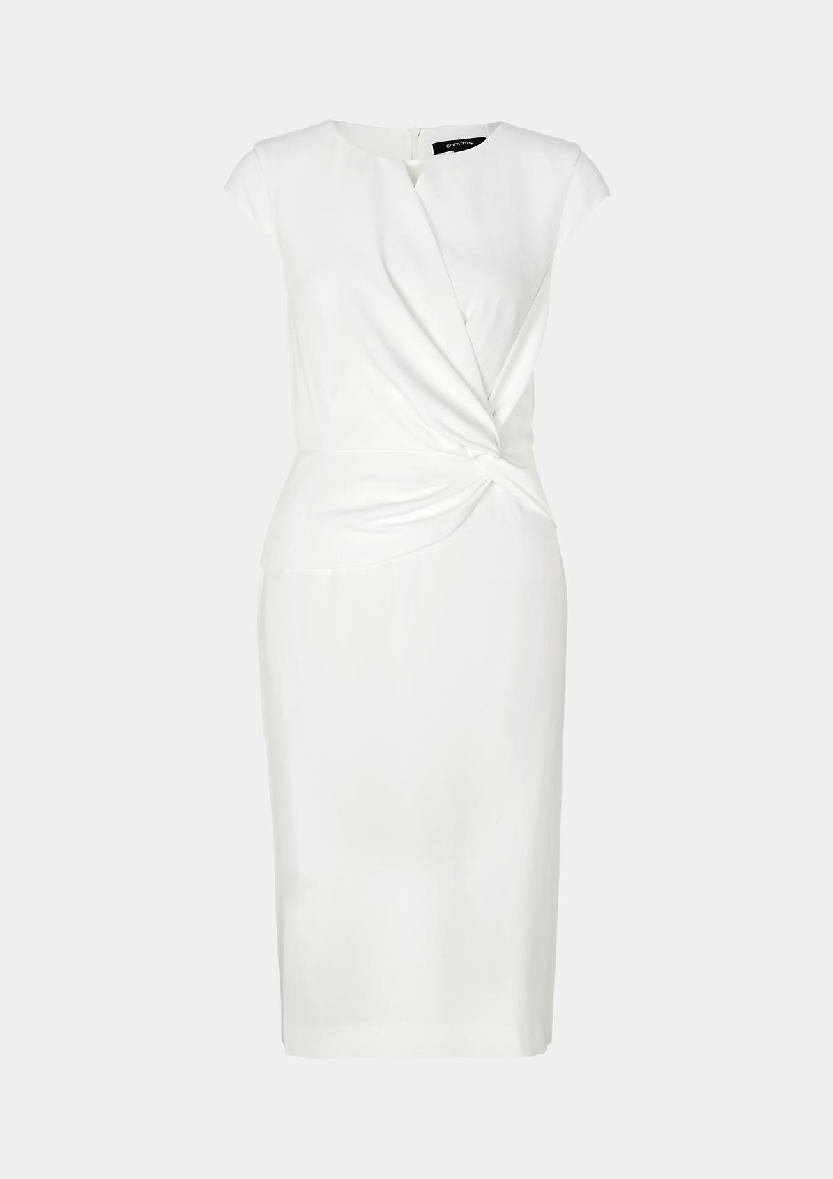 Elegantes Abendkleid mit Zierknoten
