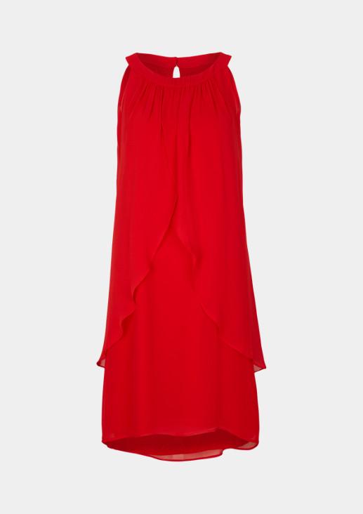 Edles Kleid aus hauchzartem Krepp