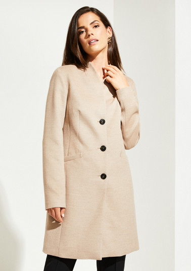 Frock coat with sophisticated details from comma