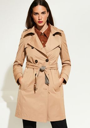 225b3847d47ed 8T.908.52.4527 Trenchcoat | Fashion & Mode | comma Online-Store