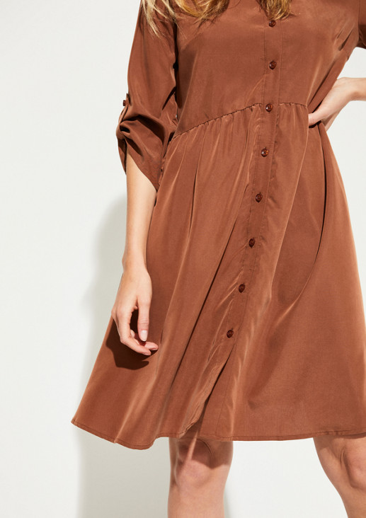Casual dress with 3/4-length sleeves from comma