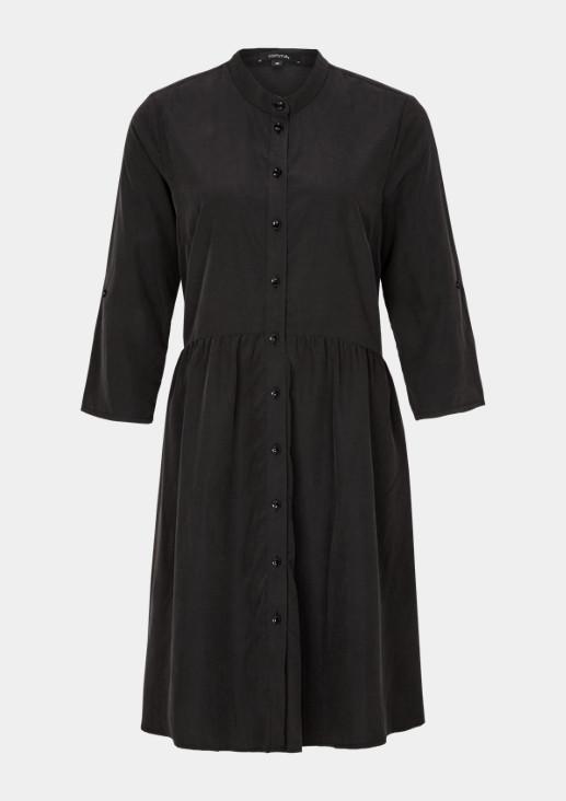 Lässiges Kleid mit 3/4-Ärmeln