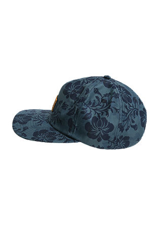 Cap mit Blumenprint