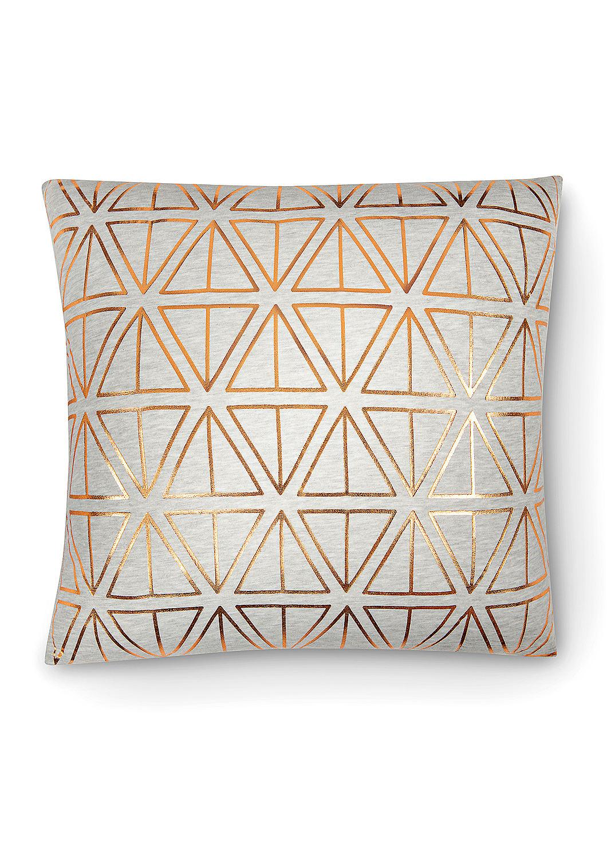 kissen mit glanz muster kaufen s oliver shop. Black Bedroom Furniture Sets. Home Design Ideas