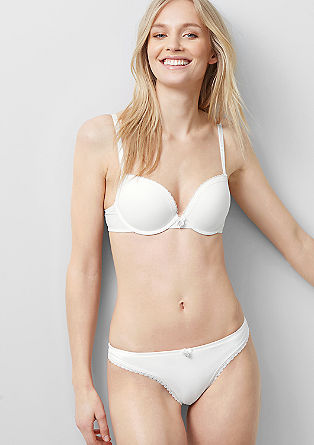 Push-up bra with lace from s.Oliver