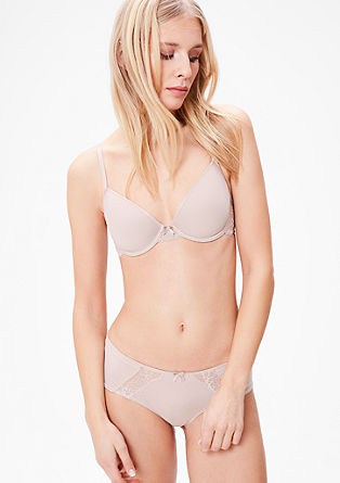 Spacer/cup bra with lace from s.Oliver