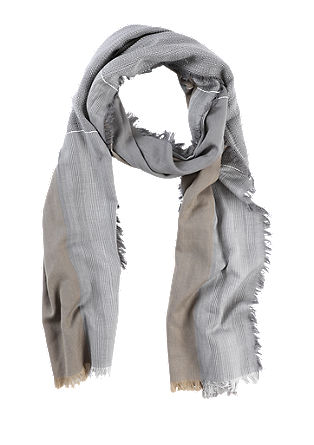 Oversized scarf with a woven texture from s.Oliver