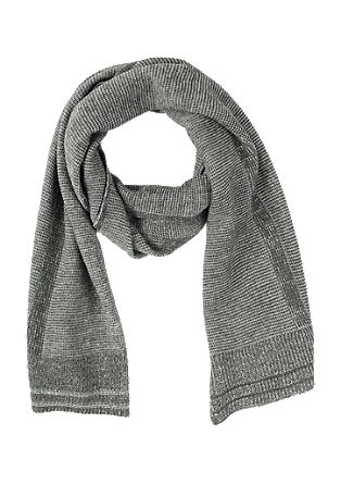 Melange knit scarf from s.Oliver
