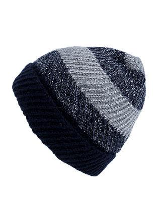 Mütze im Streifen-Design
