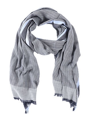 Lightweight scarf with a striped pattern from s.Oliver