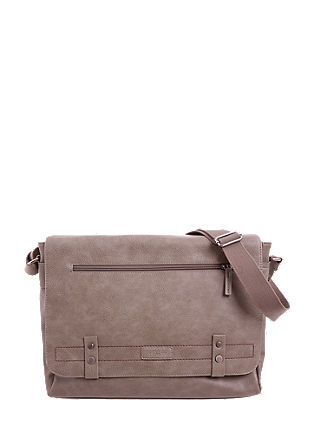 Messenger bag met laptopvak