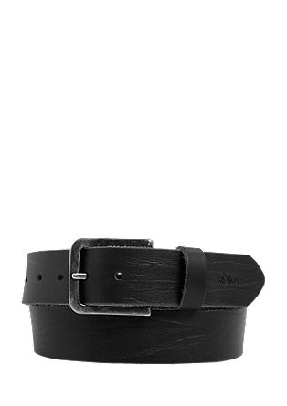 Sturdy leather belt from s.Oliver