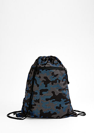 Rucksack with camouflage print from s.Oliver
