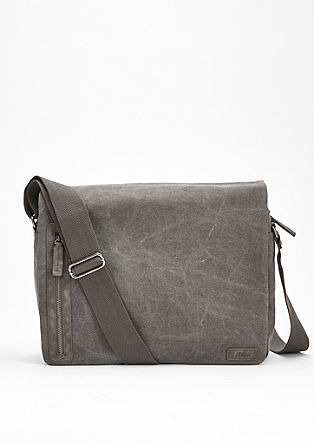 Messenger bag in canvas from s.Oliver