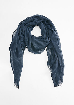 Schal aus leichter Webware