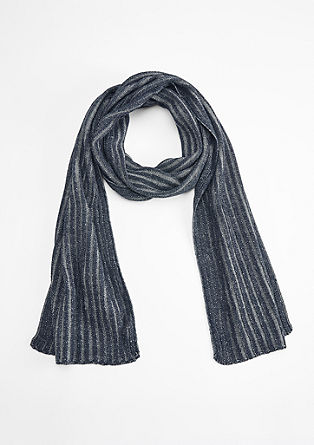 Rib knit scarf from s.Oliver
