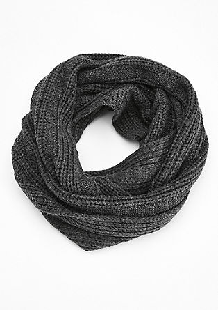 Snood aus Rippstrick