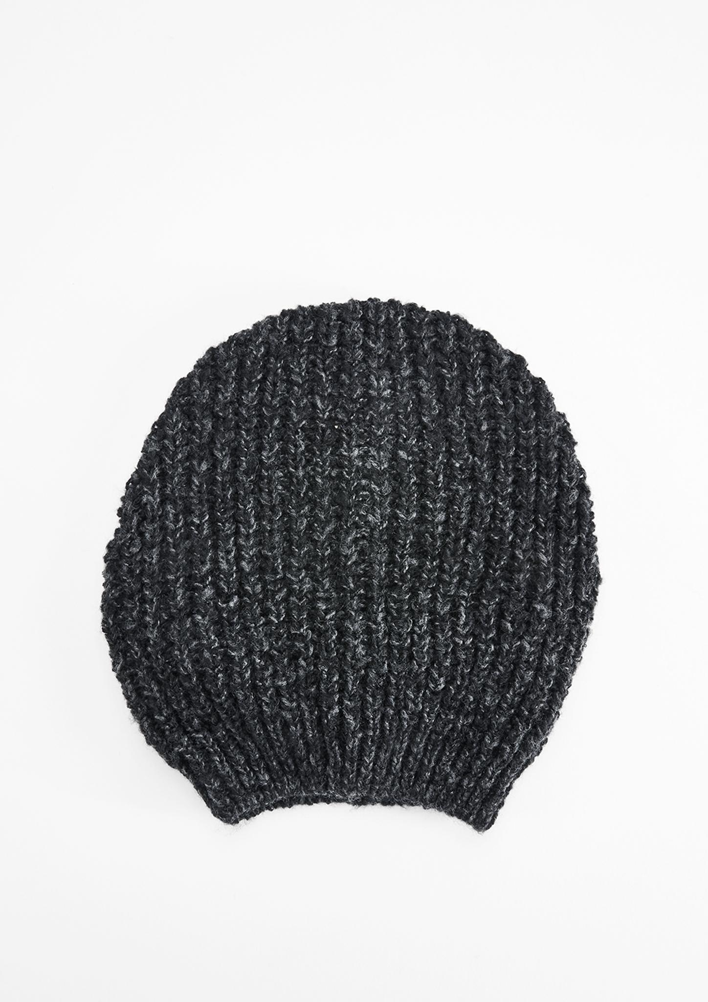 Strickmütze | Accessoires > Mützen > Strickmützen | Grau/schwarz | 83% polyacryl -  17% polyester | s.Oliver
