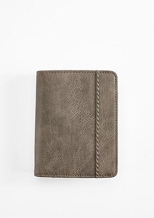 Portemonnaie mit feiner Narbung