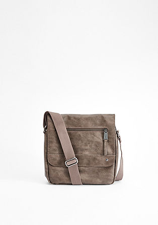 City Bag mit Vintage-Finish