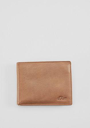 Leder-Portemonnaie mit Geschenkbox