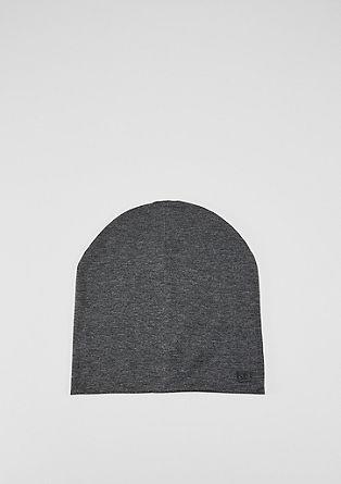 Lässige Mütze aus Jersey