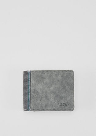 Portemonnaie mit Deko-Borte