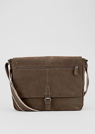 Messenger Bag in Velours-Optik