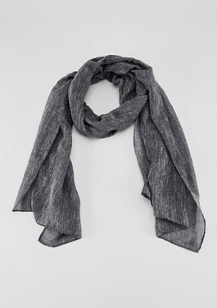 Lange sjaal van slubgaren