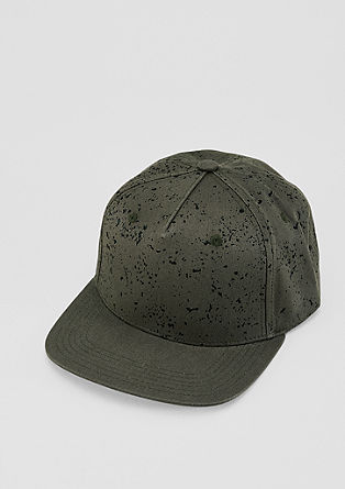 Baseball cap in a speckled finish from s.Oliver