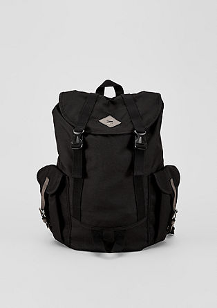 Spacious rucksack in a nylon look from s.Oliver